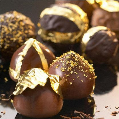 How to Use Gold Leaf and What Looks Great   Candy Bar Sydney