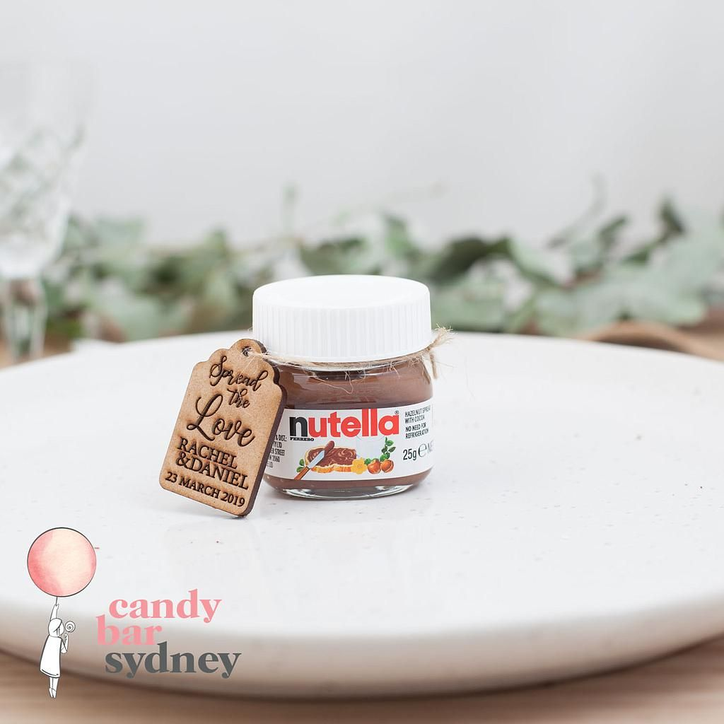 Mini Nutella Jars 25g - Nuttelino | Candy Bar Sydney