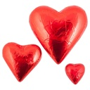 Red Belgian Chocolate Hearts 30g x 30