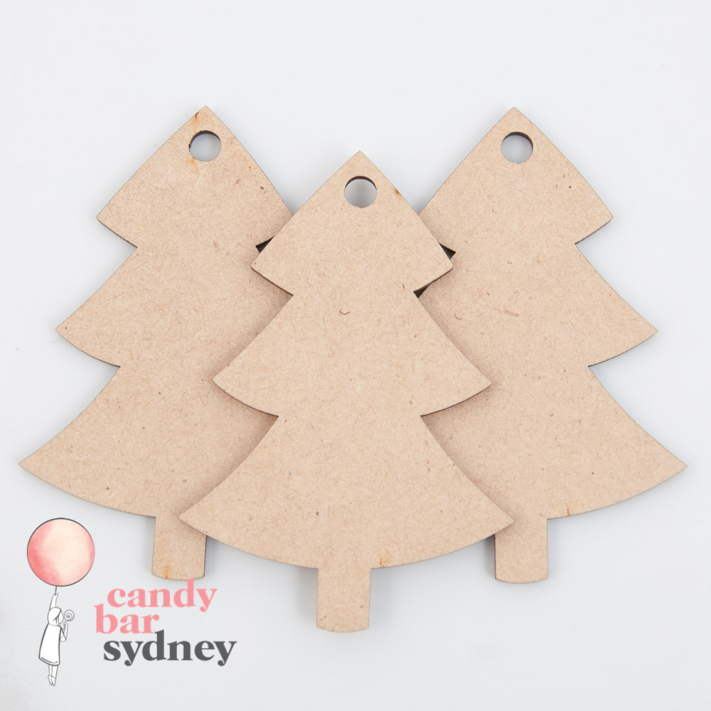 Christmas Tree Gift Tags - 3 Pack