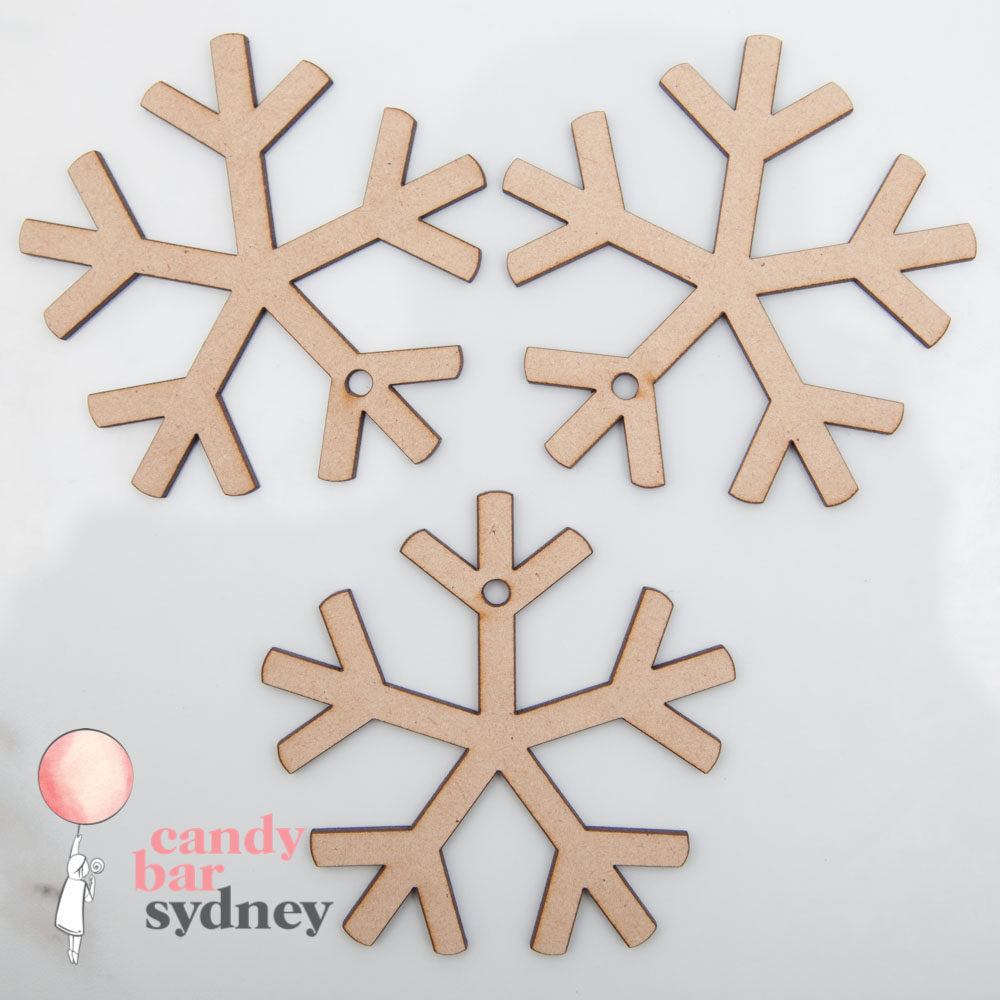 Snowflake Gift Tags - 3 Pack