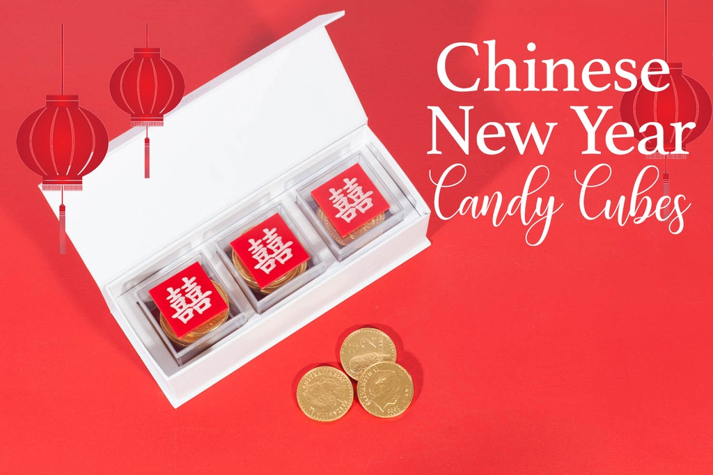 Chinese New Year Candy Cubes