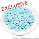 Light Blue Chocolate Beans 500g - 12kg