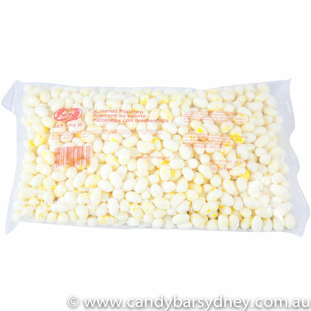 Jelly Belly Buttered Popcorn Jelly Beans Candy Bar Sydney