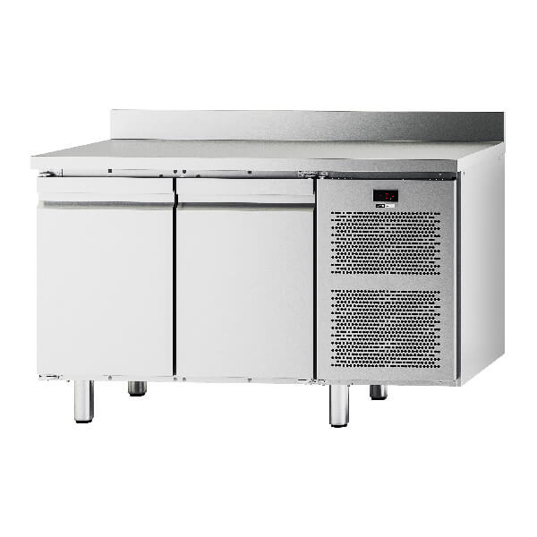 Pomati Ventilated Refrigerated Tables with 2 doors