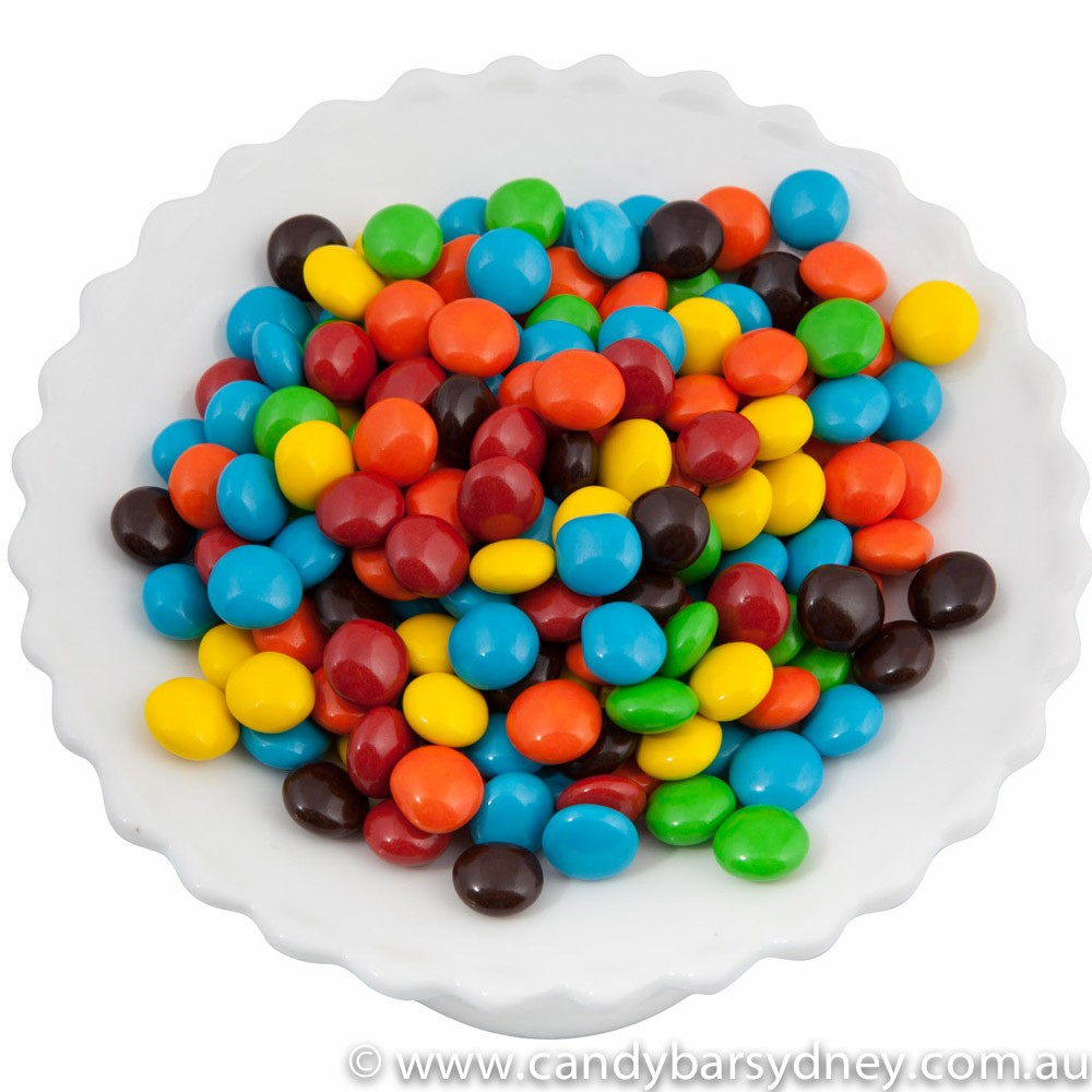 Assorted Chocolate Buttons 1kg