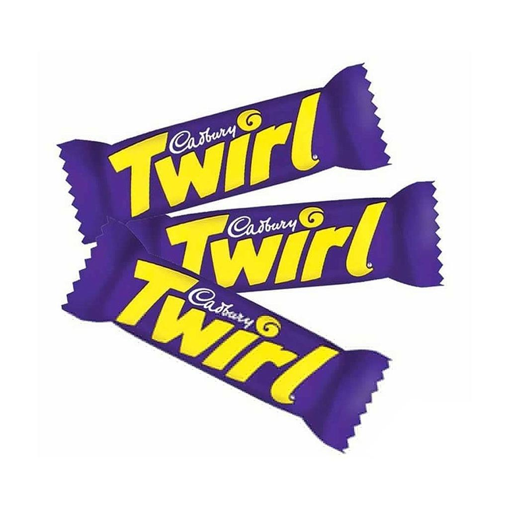 Cadbury Twirl 18g Bulk Chocolate Bars