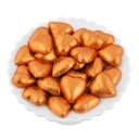 Orange Belgian Chocolate Hearts 500g - 5kg