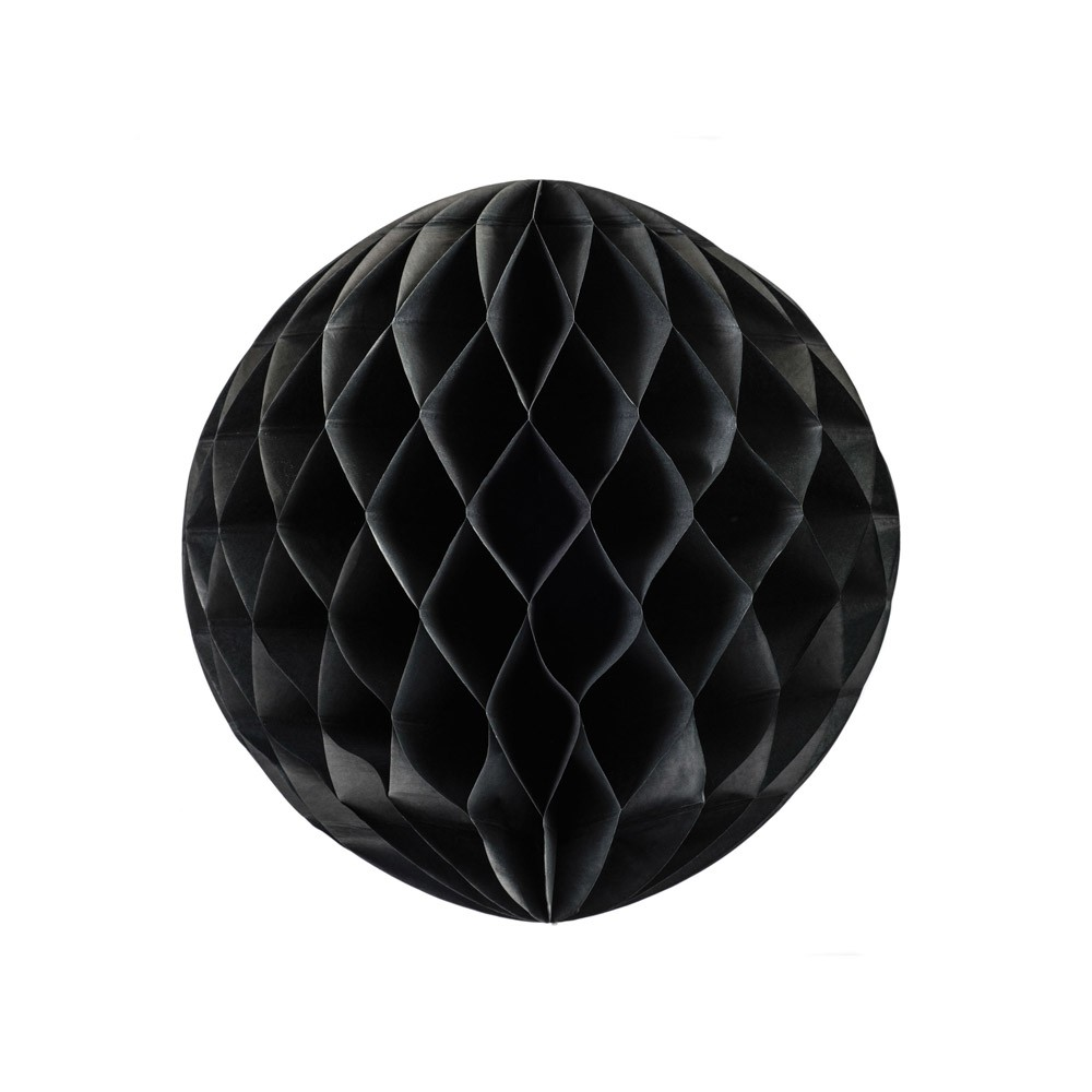 Black Honeycomb Ball 25cm