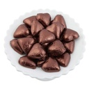 Brown Belgian Chocolate Hearts 500g - 5kg