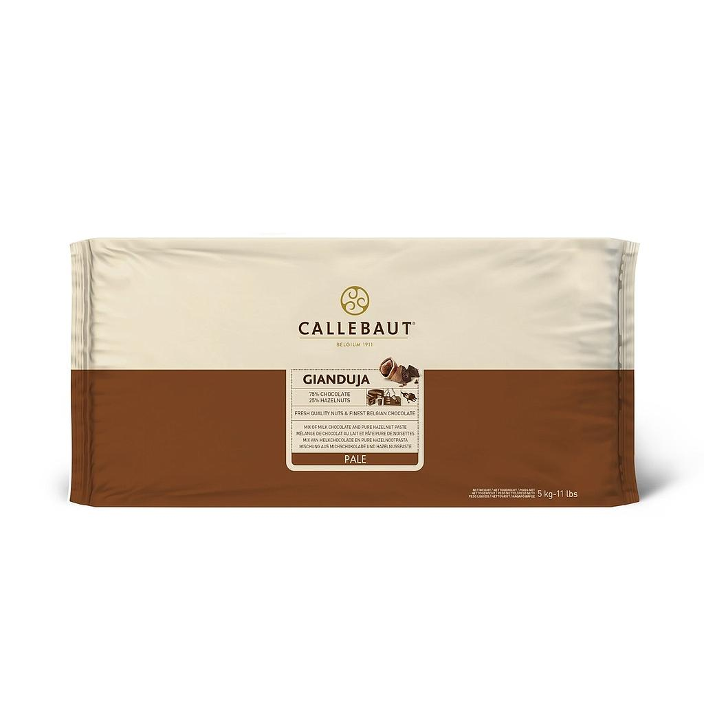 Callebaut Milk Gianduja 5kg Block