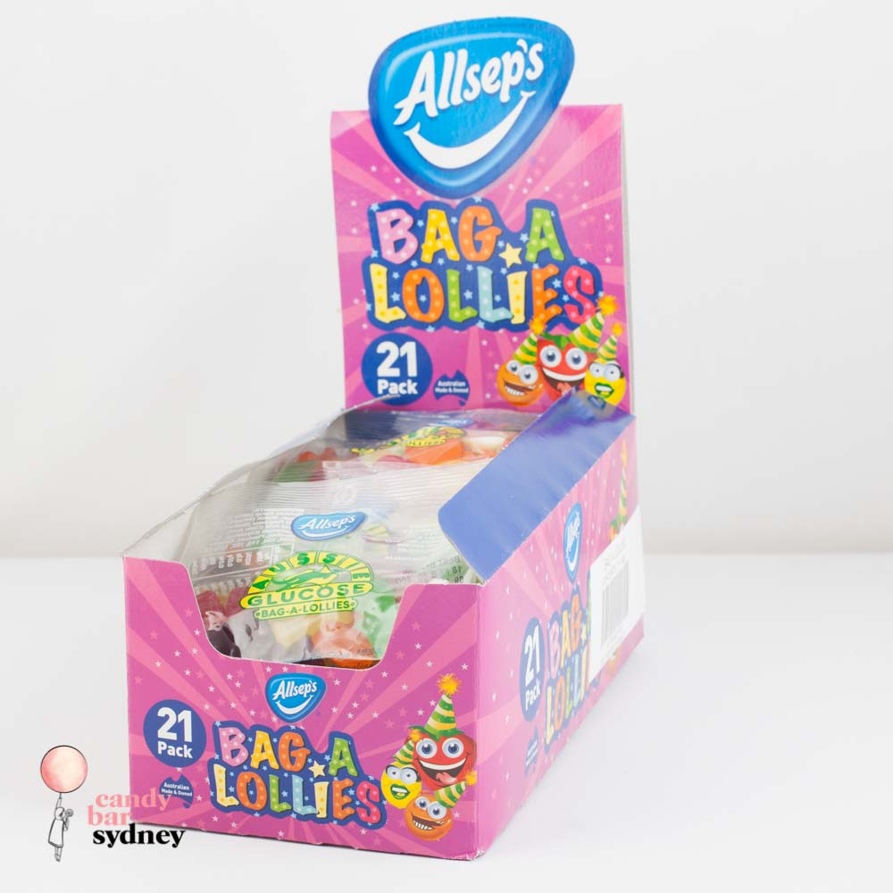 Bag A Lollies Party Mix Box - 21 Bags