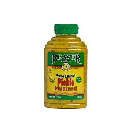 Beaver Bread & Butter Pickle Mustard 354g