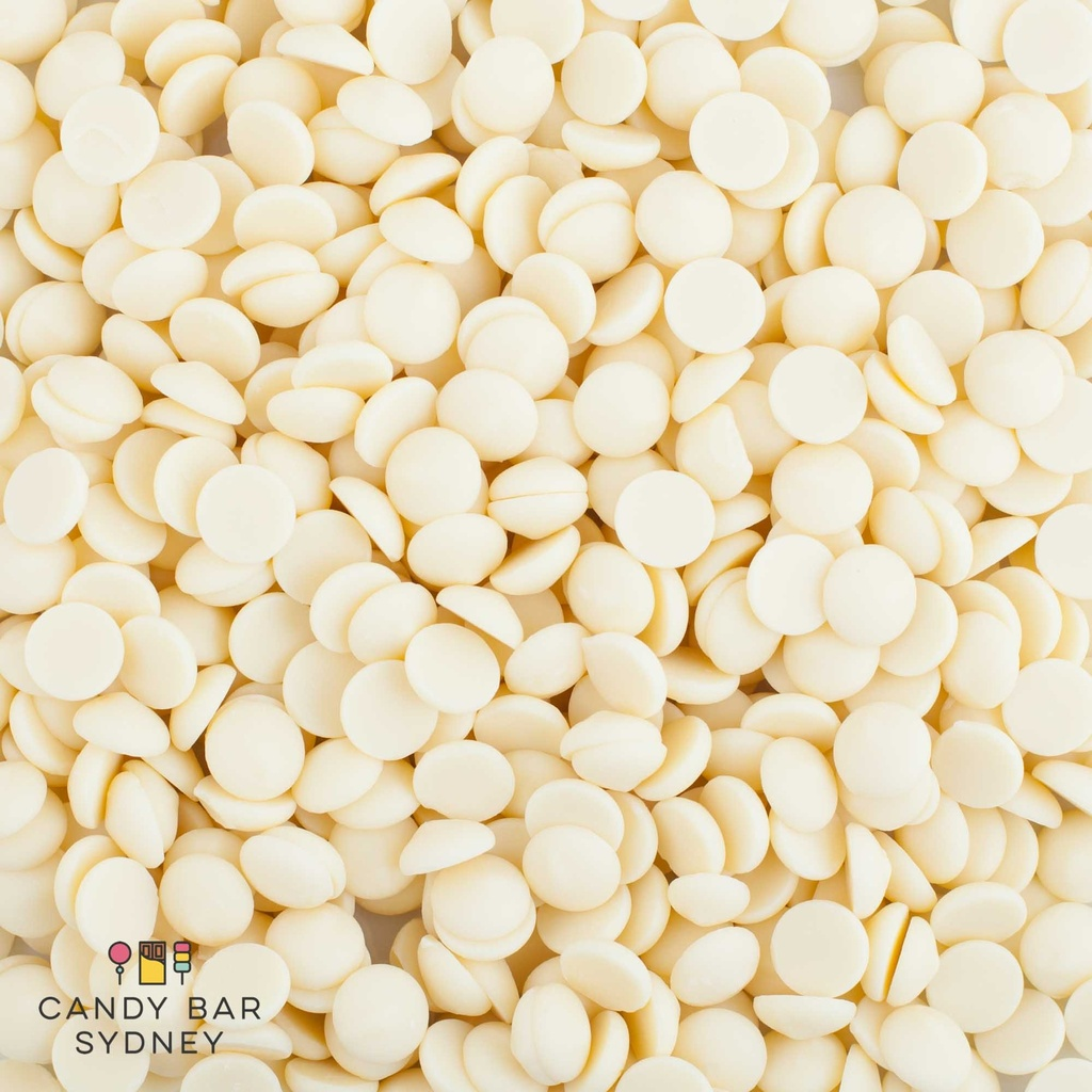 Belgian White Chocolate Callets 28.3% 10kg