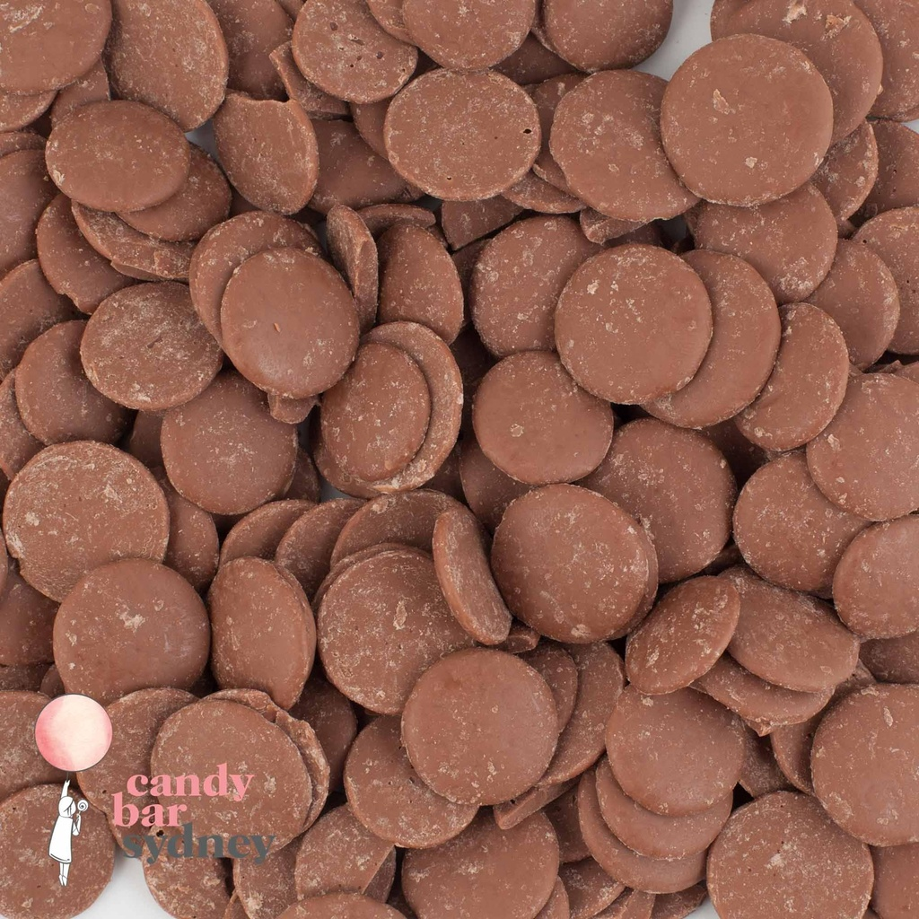 Belcolade Belgian 34% Milk Chocolate Drops 750g