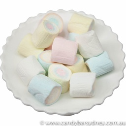 Large Multicoloured Marshmallows 1kg