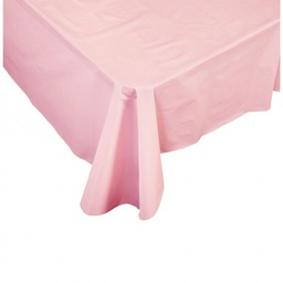 Pink Plastic Rectangle Tablecover