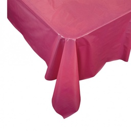 Magenta Plastic Rectangle Tablecover