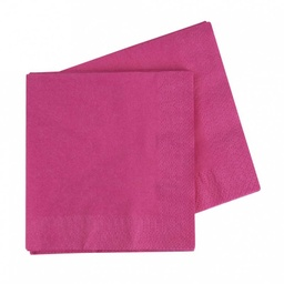 Magenta Lunch Napkins 40 pack
