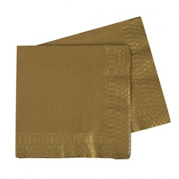 Gold Lunch Napkins 40 pack