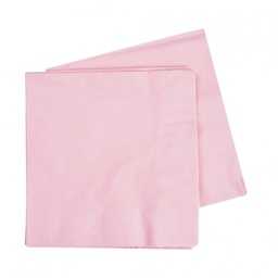 Pink Lunch Napkins 40 pack