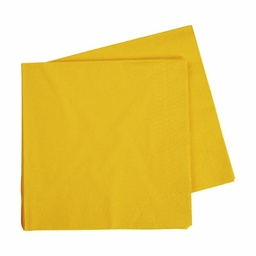 Yellow Lunch Napkins 40 pack