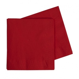 Red Lunch Napkins 40 pack
