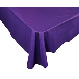 Purple Plastic Rectangle Tablecover