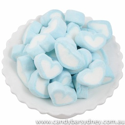 Blue Heart Marshmallows 1kg