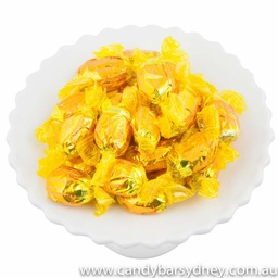 Yellow/Gold Wrapped Toffees 1kg