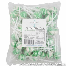 Green Ball Pops 50 pack