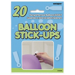 Balloon Stick Ups 20 pack