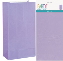 Purple Lolly Bags 12 pack