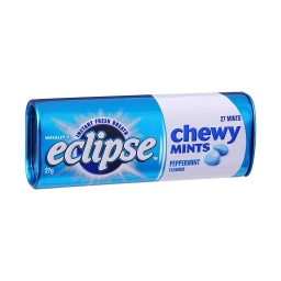 Eclipse Peppermint Chewy Mints 27g