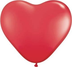 Red Heart Latex Balloons 40cm