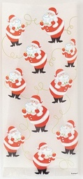 Twinkle Santa Cello Bags 20 pack