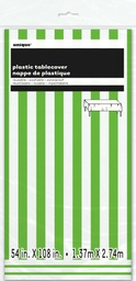 Lime Green Stripe Tablecover