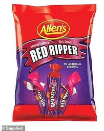 Allen's Redskins Lollies 800g
