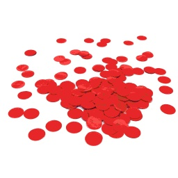 Apple Red Paper Confetti Circles 15g