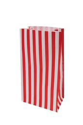 Apple Red Stripe Lolly Bags 10 pack