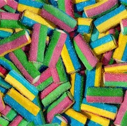 Rainbow Sour Blowpipes Bites