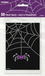 Spiderweb Trick or Treat Bags 50 pack