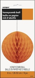 Orange Honeycomb Ball 20cm