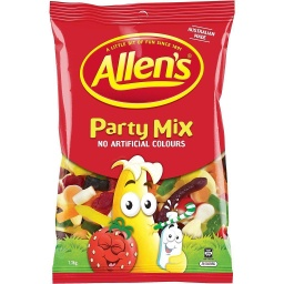 Allen's Party Mix Lollies 1.3kg