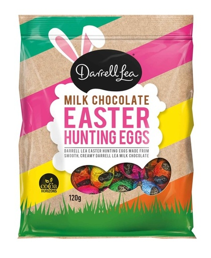 Darrell Lea Easter Hunting Eggs Bag 120g