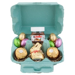 Green Lindt Easter Egg Carton Hamper