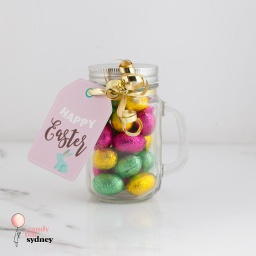 Mini Easter Egg Mason Jar