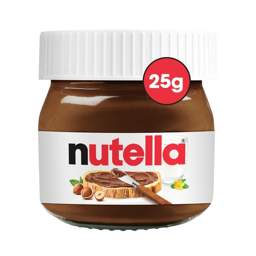 Mini Nutella Jars 25g - Nuttelino