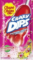 Chupa Chups Crazy Dips Strawberry & Cola 24 Pack