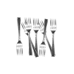 Silverware Cocktail Forks 25 Pack